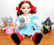 "Patsy as Dorothy +Witches+Toto OOAK Tonner 10"" Doll Wizard of Oz Goodreau Box"