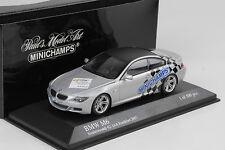 2007 BMW M6 62. IAA Frankfurt silver silber 1:43 Minichamps