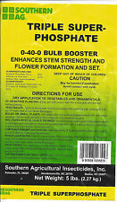 Triple Super Phosphate 0-40-0 Bulb Booster 5lbs. Plant Food/Fertilizer