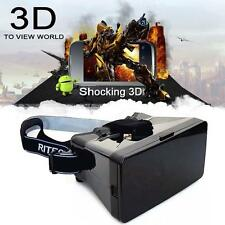 """Virtual Reality 3D Video Glasses for 4-6"""" inch Smartphones Google Cardboard LNC"""