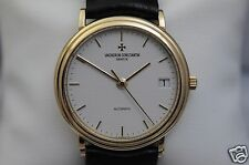 Vacheron Constantin Patrimony Ref 47014 18K yellow gold automatic, box, mint