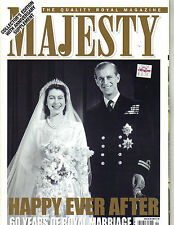 QUEEN ELIZABETH PRINCE PHILIP UK Majesty Magazine 11/07 Vol 28 No 11 COLLECTORS