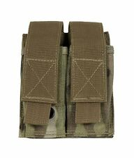 New Multicam Bulle MOLLE Webbing Double Pistol Mag Pouch