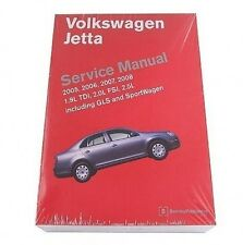 Volkswagen Jetta 2005 2006 2007 2008 2009 2010 Repair Manual Bentley VW8000501