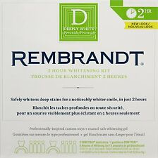 Rembrandt 2-Hour Whitening Kit for Visibly Whiter Teeth in 1 Treatment