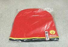 BONNET ROUGE BIERE BELGE BEER BIER JUPILER FOOT FOOTBALL BELGIQUE RED DEVILS