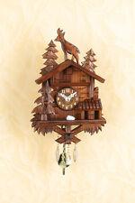 Magnifique Horloge à pendule Coucou avec Coucou et Hors service de nuit