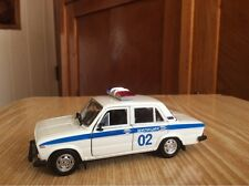 LADA VAZ 2106  Russian militia car  1:43 USSR model 1/43