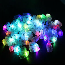 30x Flashing LED Lamp Lights Balloons Paper Lantern Balloon Wedding Party Decor