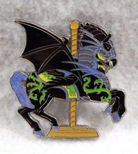 Disney Parks Carousel Kingdom Sleeping Beauty Dragon Maleficent Horse Pin