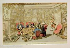 ENGRAVING DR.SYNTAX  ROWLANDSON  DR.SYNTAX  WITH MY LORD ACKERMANS 1813