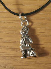 Doctor Teddy Bear Pendant .925 Sterling Silver Charm USA Made Necklace Satchel