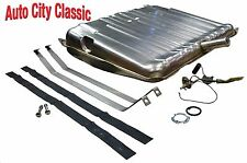 """65 66 67 Chevelle gas fuel tank kit With 3/8"""" Stainless sending unit and straps"""