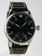 Montre FLIEGER Superluminova BGW9 Mécanique type Unitas 6498 pilot watch B-uhr