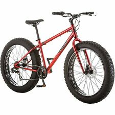 "26"" All-Terrain Man Bicycle 7 Speed Fat Tire Mountain Bike Red"