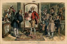 CLEVELAND THE ENGLISH CLOTHIER FITTING UNCLE SAM JOHN BULL STYLE ANGLO MANIACS