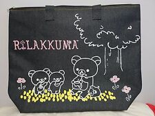 San-X Rilakkuma Cooler Insulated Large Bag Denim Brand New with Tag from Japan