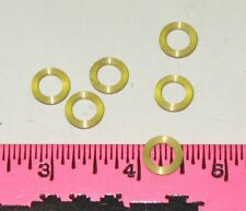 Lionel 8010-T52 (SP) Scale TRBN Tender Truck Washers - 6 Pieces