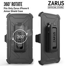 iPhone 6 for Apple Genuine Zarus 360° Rotate Belt Clip for Armor Shield Case