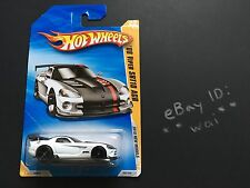 Hot Wheels '08 Dodge Viper SRT10 ACR 2008 White 2010 New Models 22/240 22 srt 10