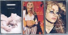 ANASTACIA CASSETTES X 3 DIFFERENTS K7 TAPE CD MADE IN INDONESIA / NEW ++ RARE ++