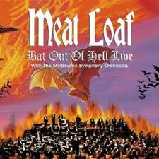 "MEAT LOAF ""BAT OUT OF HELL LIVE"" CD NEUWARE !!!"