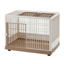Richell 830 Indoor Dog Training Kennel   Pet Cage Crate Mobile Puppy House Pen