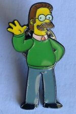 Ned Flanders Waving The Simpsons Pin Badge Collectable (E6)