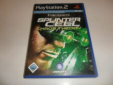 PlayStation 2  PS 2  Tom Clancy's Splinter Cell: Chaos Theory