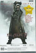 BLADE 2  - WESLEY SNIPES  2 DVD SET REGION 4 (AUST, NZ)
