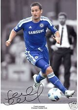 FRANK LAMPARD - CHELSEA AUTOGRAPH SIGNED PP PHOTO POSTER