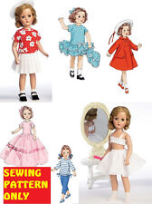 SEWING PATTERN! MAKE VINTAGE STYLE DOLL CLOTHES! AMERICAN GIRL~SHIRLEY TEMPLE