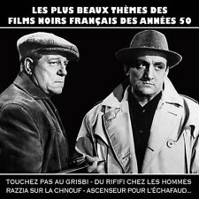 CD The most beautiful French film noir themes of the 50s