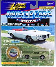 Johnny Lightning Muscle Cars USA 1968 Ford Shelby GT-500 Mustang Green 1996 MOC
