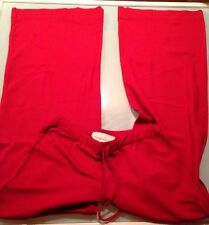 Weekend Max Mara Dark Red Belted Trousers Wide Leg Made In Italy