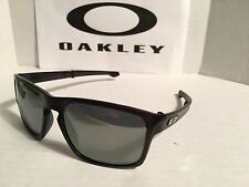 OAKLEY OO9246-04 Sliver F Black Polarized FOLDING SUNGLASSES