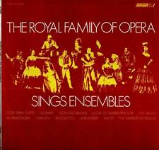 THE ROYAL FAMILY OF OPERA LP SINGS ENSEMBLES