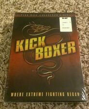 KICKBOXER Collectors Set NEW SEALED OOP 5 DVD box w/Redemption + 4 Mark Dacascos