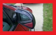 2 Piece Side Mirror Smoke Tinted Rain Visors For Kia Models