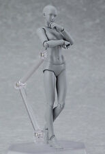 MAX Factory figma archetype next she grey color ver. Complete PVC Figure FM3334