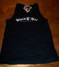 WOMEN'S TEEN BLACK KAT Speed & Kustoms TANK T-shirt LARGE NEW  w/ TAG Cat
