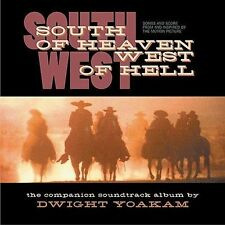 """SOUTH OF HEAVEN - WEST OF HELL"" - SOUNDTRACK - DWIGHT YOAKAM - WARNER BROS. CD"