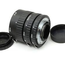 Full Autofocus - Ensemble de 3 Tubes-allonge Macro Auto AF pour Nikon D7200 D710
