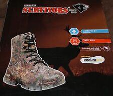 """Herman Survivors Men's 8"""" Boots Waterproof Insulated Camo 7,8,14"""