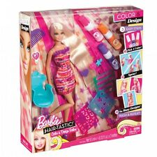 Barbie Hairtastic Colour & Design Salon Doll Rare