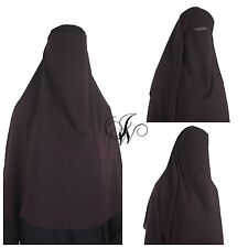 Niqab best quality luxury 3 layers microfiber Jilbab hijab scarf