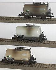 Märklin H0 84854 Kesselwagen-Set Brambles Europe mit 3 Wagen Gealtert Neu