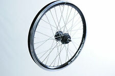 20x 1.75 DISC BRAKE FRONT WHEEL BLACK DUAL WALL RIM BMX KIDS BIKE FOLDER CYCLE