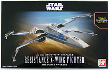 Bandai Star Wars X-Wing Fighter Resistance 1/72 scale kit 022893