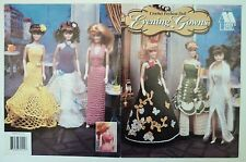Annie's Attic 1997 Crochet Fashion Doll Evening Gowns 870114 Six Patterns USA